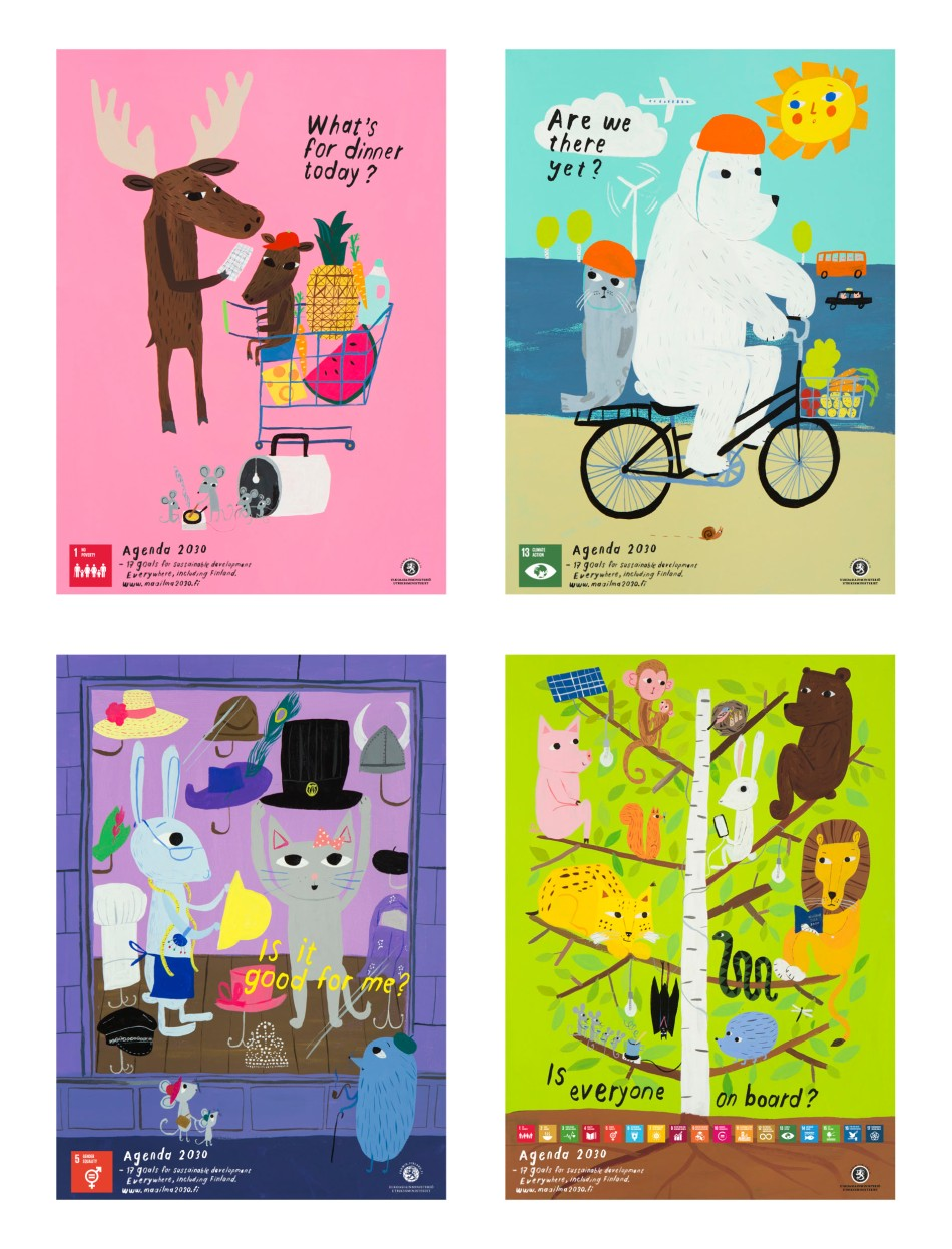 Finnish SDG posters